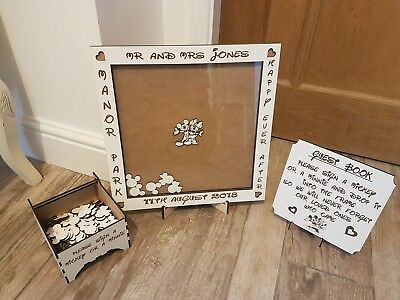 Wedding Dropbox Guest Book Disney Inspired