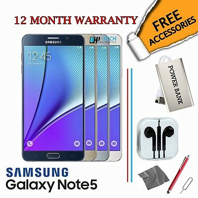 Samsung Galaxy Note 5 -  32 / 64GB  All Colours - Smartphone - Unlocked