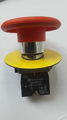 Telemecanique ZB2-BE102 Emergency Stop Push Button Switch (R3S7.3B3)