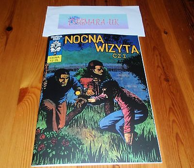 *new polish book* Kapitan Żbik: 23 - Nocna wizyta *komiks*