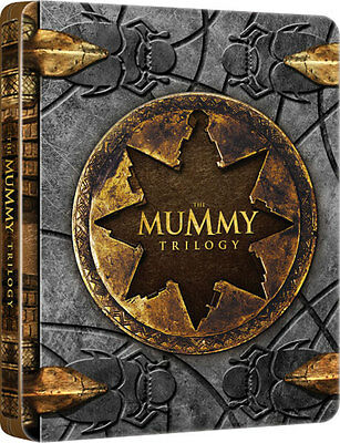 The Mummy Trilogy (Limited Edition Steelbook) [Blu-Ray]