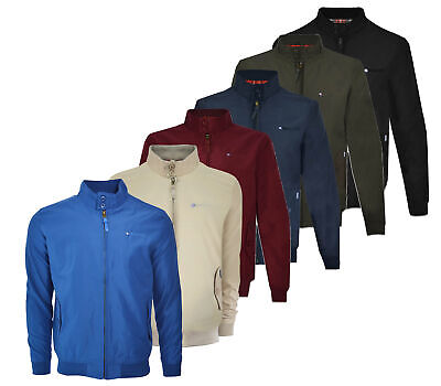Mens Lambretta ShowerProof Classic Harrington MOD Scooter Jacket Sizes S to 3XL