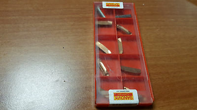 SANDVIK 10pcs for grooving N123K2-0600-0004-GM 1125