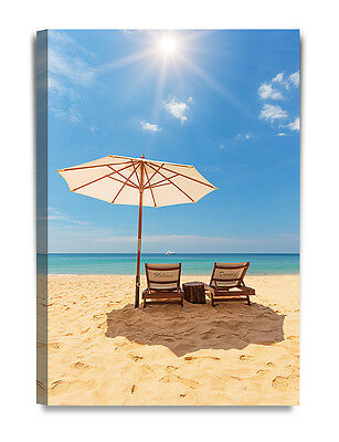 Personalized Canvas Prints Romance on Beach Love Gift Ready to hang DecorArts