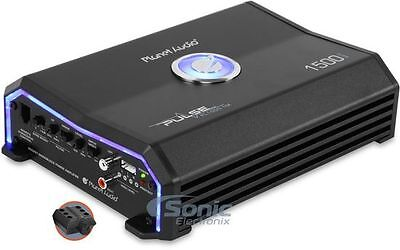 Planet Audio Pulse 1500Watt RMS Monoblock Amp MOSFET Amplifier+Remote PL1500.1M