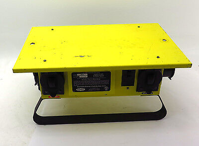 Hubbell TPDS 50A 120/240VAC Temporary Power Distribution Unit Free Shipping