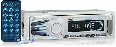 Boss MR1308UAB In-Dash Digital Media Bluetooth Marine Stereo Receiver