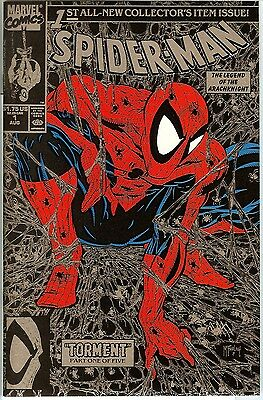 Spider-Man #1 NM+ PETER PARKER TORMENT Part 1 LIZARD SILVER EDITION Marvel Comic