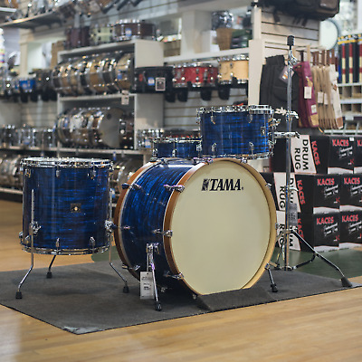 Tama Superstar Classic Limited Edition 4-Piece Shell Pack Blue Onyx