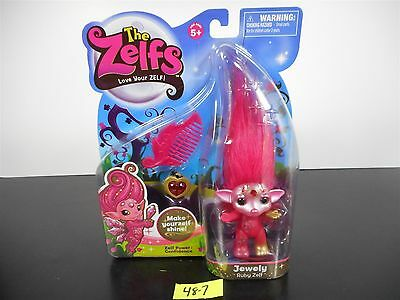 NEW!!! The Zelfs JEWELY RUBY Zelf ULTRA RARE!! Season 2 LIMITED HTF!! MOOSE 48-7