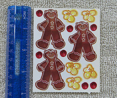 Print Works *GINGERBREAD AND POPCORN* Large Sticker Sheet