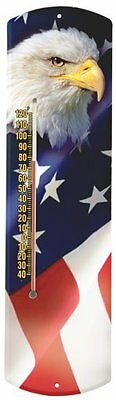 Heritage America by MORCO 375BE-FLAG Bald Eagle with Flag Outdoor or Indoor