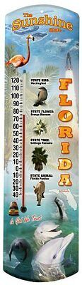 Heritage America by MORCO 375FL Florida Outdoor or Indoor Thermometer