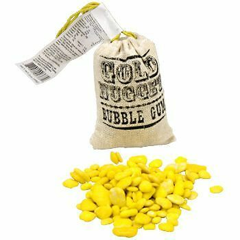 Gold Nugget Gum (each) Party Supplies