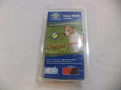 PetSafe Easy Walk Dog Harness In Size Small - Large And Colors Red & Black