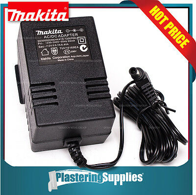 Makita Power AC Adapter 240v 12v 0.7A 8.4VA Jobsite Radio SE00000058