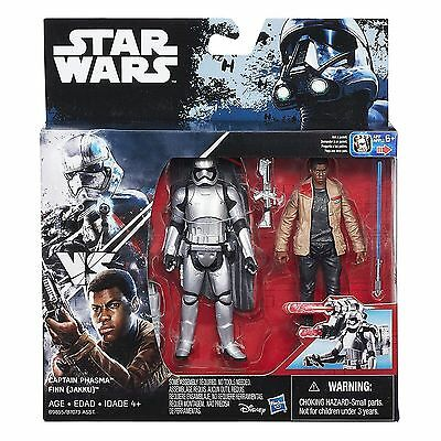 Star Wars B9855 Captain Phasma vs. Finn (Jakku) (Episode VII) Hasbro