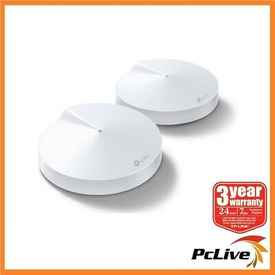 2x TP-Link Deco M5 AC1300 Wireless Gigabit Router Dual Band Wi-Fi Parent Control