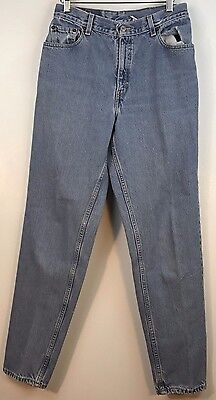 "Vintage Levis Womens sz10 550 ""Mom"" jeans relaxed fit tapered leg 100% Cotton"