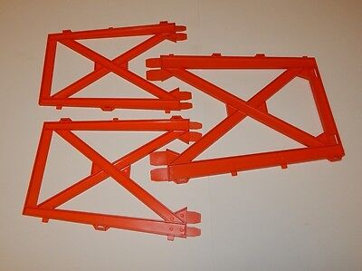 TOP ROW 1973 GI Joe Adventure Team Training Center Tower Parts  STRUCTURE WALL