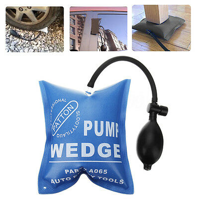 Car Air Pump Wedge Alignment Inflatable Pad Open Door Window Lock Tool Opener