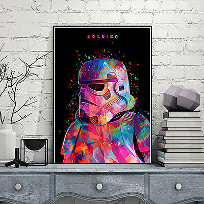Star Wars Movie Silk Poster Art Print 12x18 24x36 inch Imperial Stormtrooper