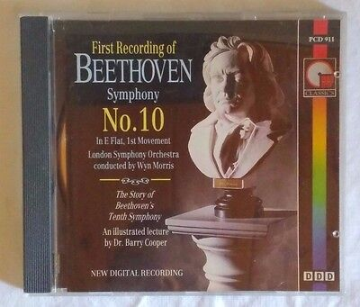 First Recording Of Beethoven Symphony No.10 - Cd