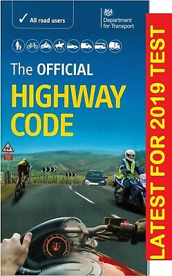The Official Highway Code 2019 DVSA Latest Edition for Theory Test Pass Exam-*hw