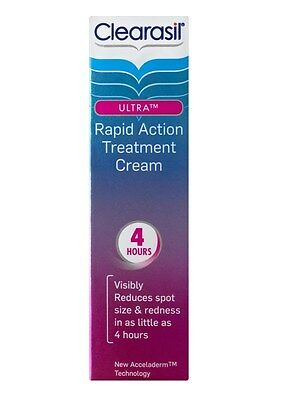 Clearasil Ultra New Acceladerm Technology Rapid Action Treatment Cream 25ml