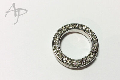 23mm Ring Karabiner Strass #7144 TOP