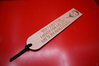 Wooden Bookmarks Game Of Thrones Khal Drogo Moon Of My Life My Sun And Stars