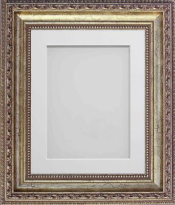 Frame Company Fiorelli Range Ornate Gold Picture Photo Frames with Mount