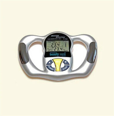 Hand held Body Mass Index BMI Health Fat Analyzer Monitor Portable TP
