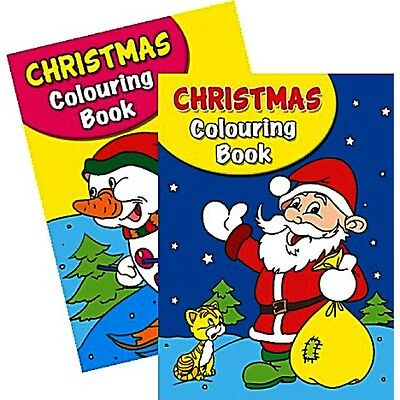 2 x A4 150 PAGE  JUMBO CHILDREN'S CHRISTMAS COLOURING BOOKS BOOK FUN PICTURES