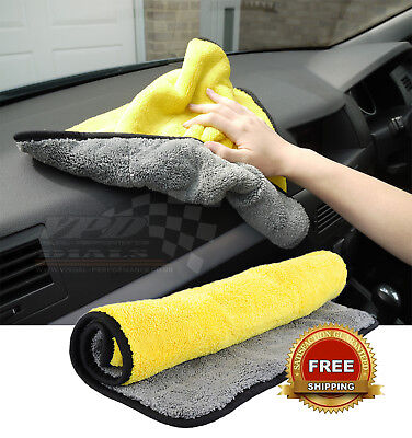 Cleaning cloth Luxury Extra Large micro fiber drying towel wash Valeting polish