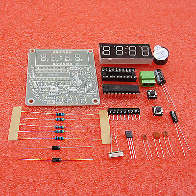 2Pcs  At89c2051 Digital 4 Bits Electronic Clock Electronic Production Suite top