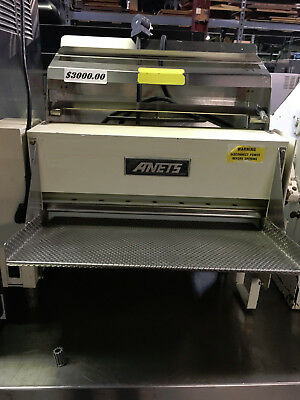 Anets Dough Roller 2 pass - SDR-30 - Pizza - Countertop