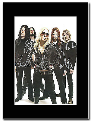 Arch Enemy - Band Shot - Signed Mounted Print