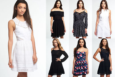 New Womens Superdry Dresses Selection 2 - Various Styles & Colours 3008