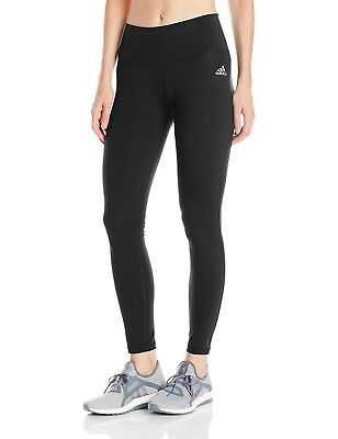 New Women's Adidas Performance Mid Rise Long Tights - AJ2072 - Training