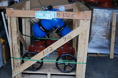 "Wilkins Zurn 475Osy Backflow Preventer  6"" Horizontal New"
