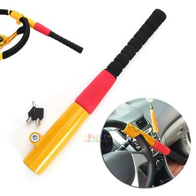 Baseball Style Car Steering Wheel Security Lock With 2 Keys Anti Theft Devices