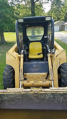 (Bobcat) John Deere SkidSteer Loader 317 (3040 Hrs) Tooth Bucket, 2008