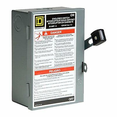 Square D by Schneider Electric L211N 30 Amp 120/240-Volt Two-Pole Indoor