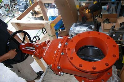 "Zurn Wilkins Mdl 48 Os&y 10"" Resilient Wedge Gate Valve  New"