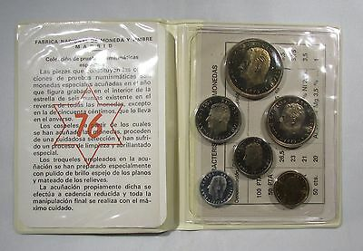 Spain 6 coin Proof Set
