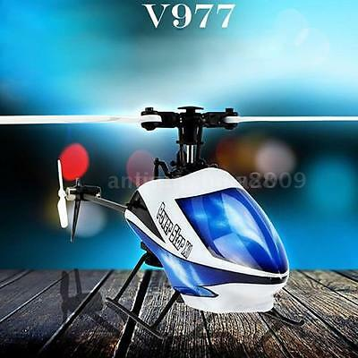 WLtoys V977 Power Star X1 6CH 2.4G 3D Flybarless RC Helicopter Airplane E1I0