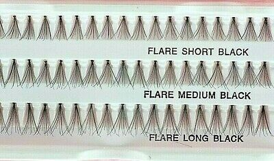 8mm - 14mm Volume Cluster eyelash extensions individual Russian False Eye Lashes
