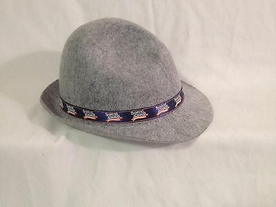 Samuel Adam's Octoberfest Gray Hat with Feathers