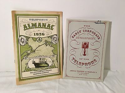 Vintage 1956 Southern New England Phone Co. Advertising Booklets ~Bell Systems~